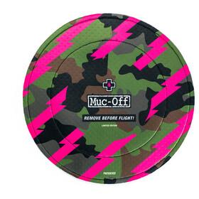 Muc-Off Disc Brake Covers 1 paar, groen/roze